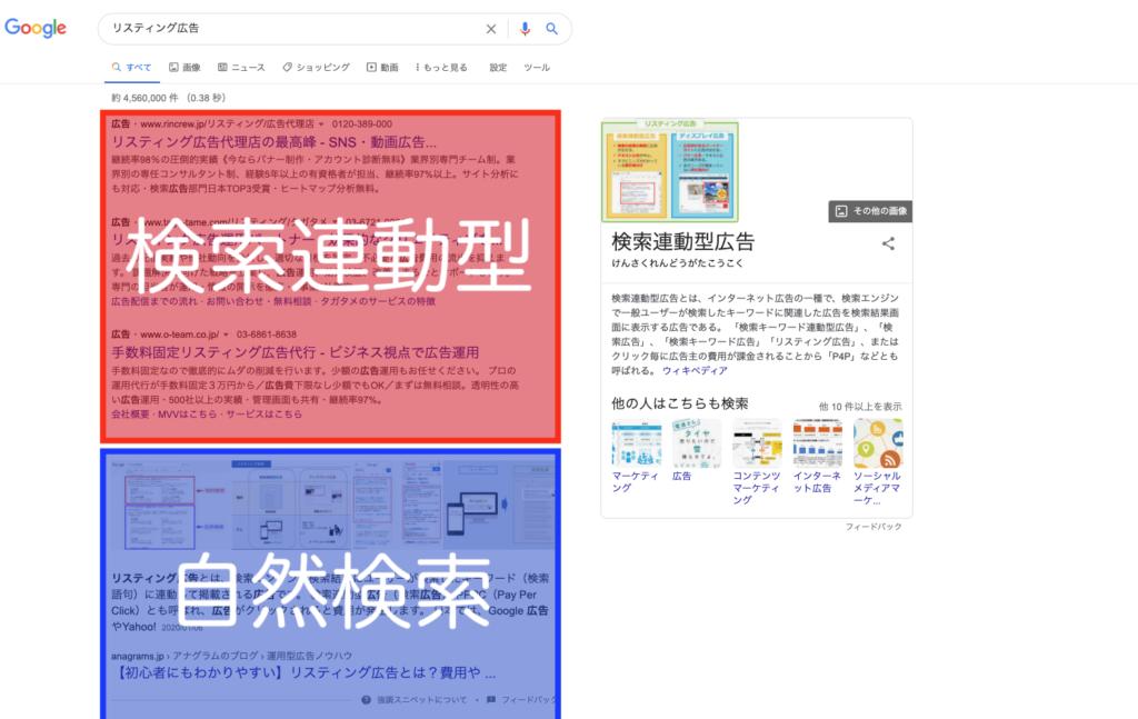 検索連動型